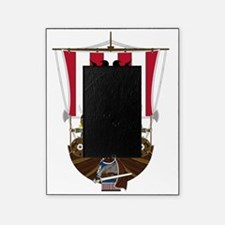 Vikings and Longship Picture Frame