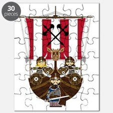 Vikings and Longship Puzzle