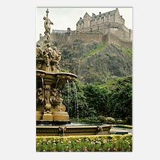 Edinburgh Castle Postcards (Package of 8)