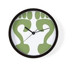 Riddle flip Wall Clock