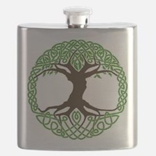 colored tree of life Flask