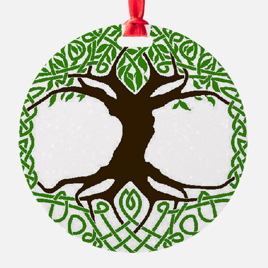 colored tree of life Ornament