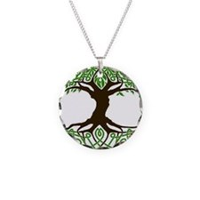 colored tree of life Necklace
