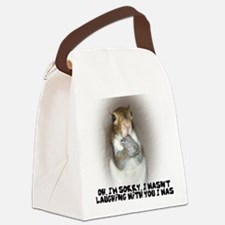 Laughing Squirrel Canvas Lunch Bag
