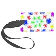 Sticks Flower Luggage Tag