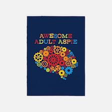 Aspie Adult Autism 5'x7'Area Rug