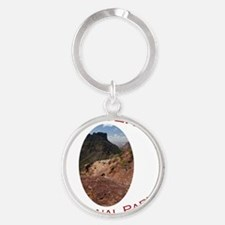 Big Bend National Park...Chisos Mou Round Keychain