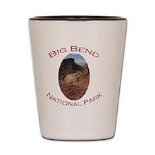 Big Bend National Park...Chisos Mountai Shot Glass