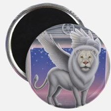 Winged Lion Magnet
