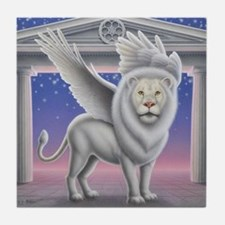 Winged Lion Tile Coaster