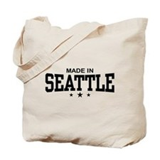 Made in Seattle Tote Bag
