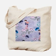 jAPANESE LADIES PATTERN Tote Bag