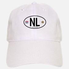 Netherlands Intl Oval Baseball Baseball Cap