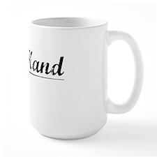 Left Hand, Vintage Mug