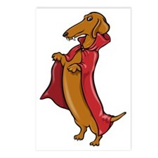 Doxula Vampire Dachshund Postcards (Package of 8)