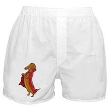 Doxula Vampire Dachshund Boxer Shorts