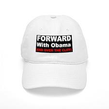 anti obama off the cliffd Baseball Baseball Cap