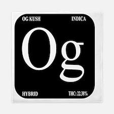 OG Black Design Queen Duvet
