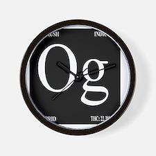 OG Black Design Wall Clock