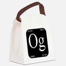 OG Black Design Canvas Lunch Bag