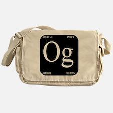 OG Black Design Messenger Bag