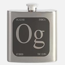 OG Black Design Flask