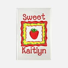 Sweet Kaitlyn Rectangle Magnet