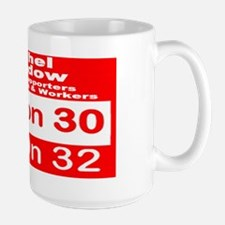 Rachel Maddow Fans and Supporters for E Large Mug