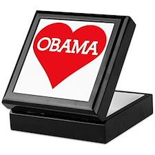 I Heart Barack Obama Keepsake Box