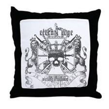 Eternal Edge-Victory Is Imminent Throw Pillow