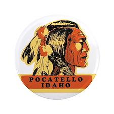 """Pocatello Idaho 3.5"""" Button"""