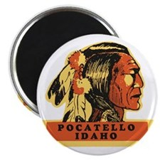 Pocatello Idaho Magnet