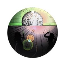 The Quagaars - Disco. Round Ornament
