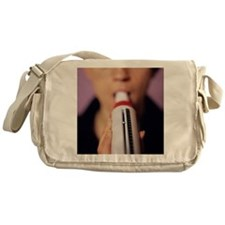 Lung function test Messenger Bag