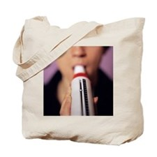Lung function test Tote Bag