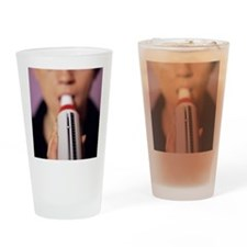 Lung function test Drinking Glass