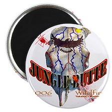 Jungle Butte Wildfire 2006 Magnet