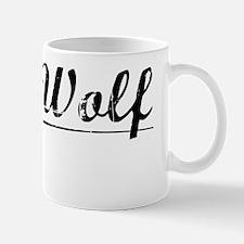 Lone Wolf, Vintage Mug