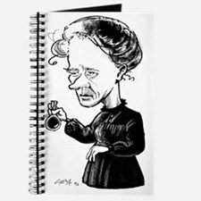 Marie Curie, caricature Journal