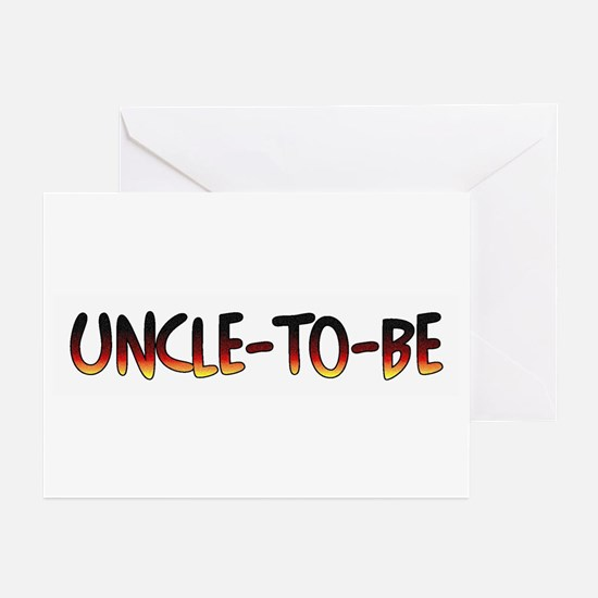 Uncle-To-Be Greeting Cards (Pk of 10)