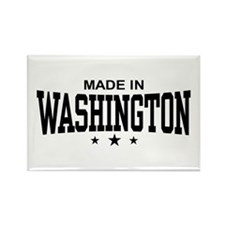 Made in Washington Rectangle Magnet