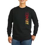 Germany Long Sleeve Dark T-Shirt