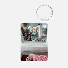 Maternity hospital Aluminum Photo Keychain
