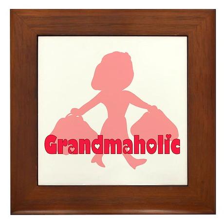 Grandmaholic Framed Tile