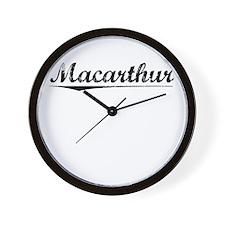 Macarthur, Vintage Wall Clock