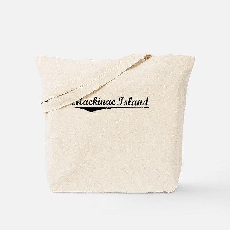 Mackinac Island, Vintage Tote Bag