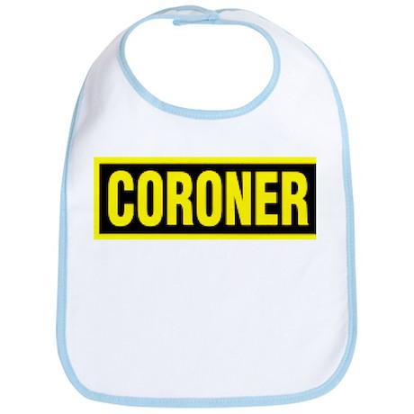 Coroner Logo Bib