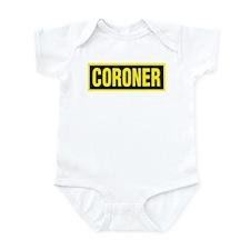 Coroner Logo Infant Bodysuit