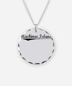 Mackinac Island, Vintage Necklace