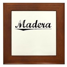Madera, Vintage Framed Tile